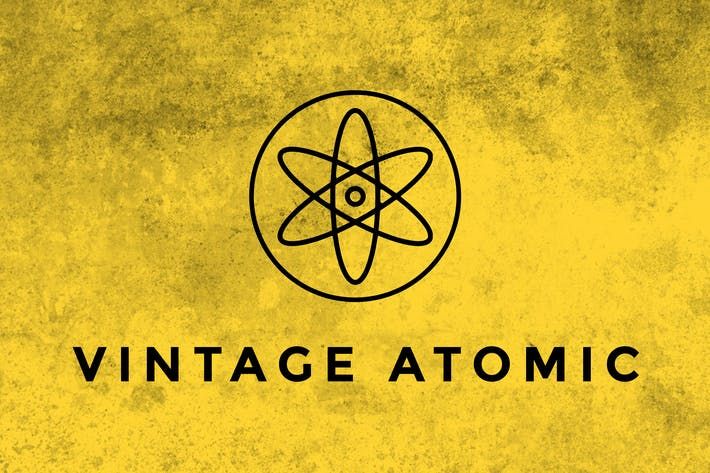 Thumbnail for Pinceles Vintage Atomic Textura