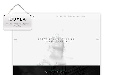 Ourea - Creative Portfolio / Agency Template