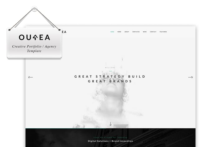 Thumbnail for Ourea - Creative Portfolio / Agency Template