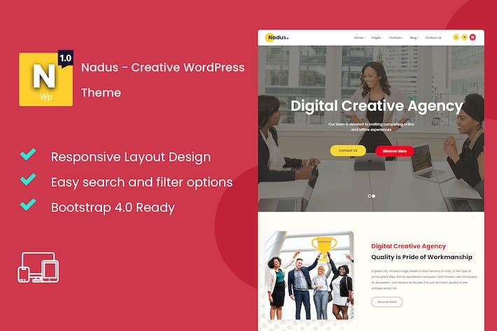 Thumbnail for Nadus - Kreative WordPress Thema
