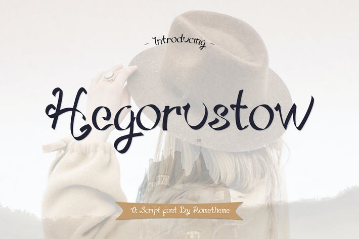 Thumbnail for Hegorustow Font YR