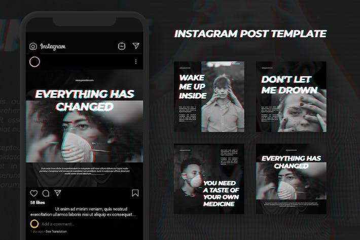 Glitch Instagram