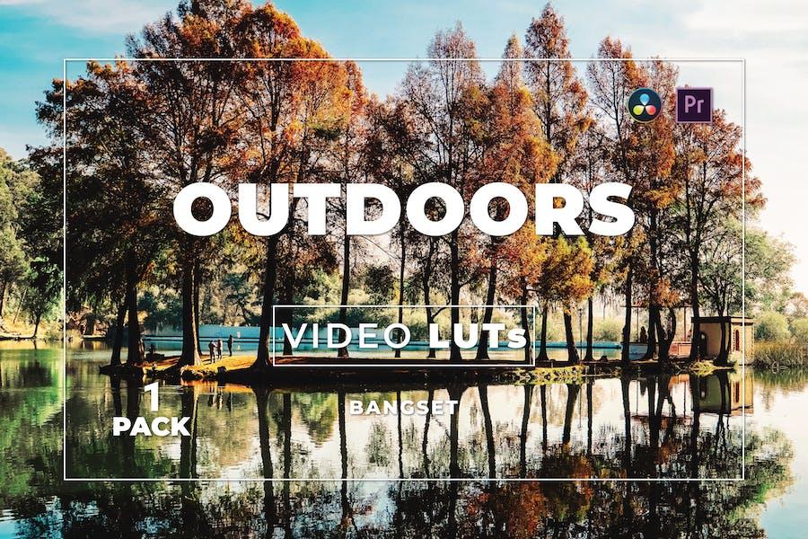 Набор бангсет на открытом воздухе 1 Видео LUTs