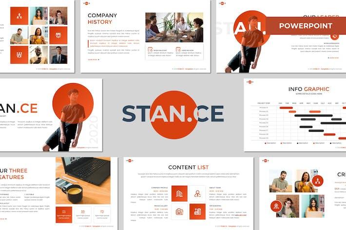 Stance - Многоцелевой Шаблон Powerpoint
