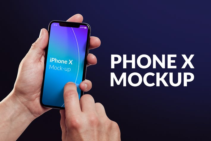 Thumbnail for Isolated Phone X Mock-up