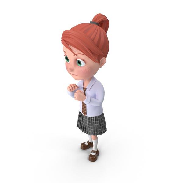 Thumbnail for Cartoon Girl Grace Guarding