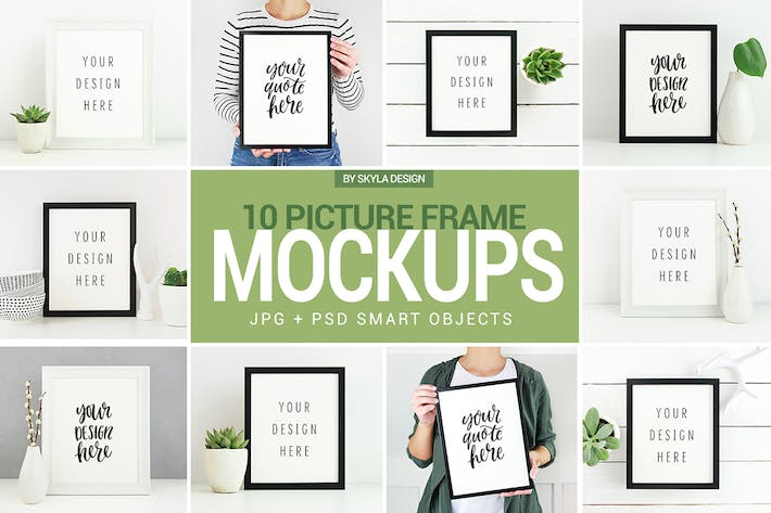 Thumbnail for Poster & Picture frame mockup photos