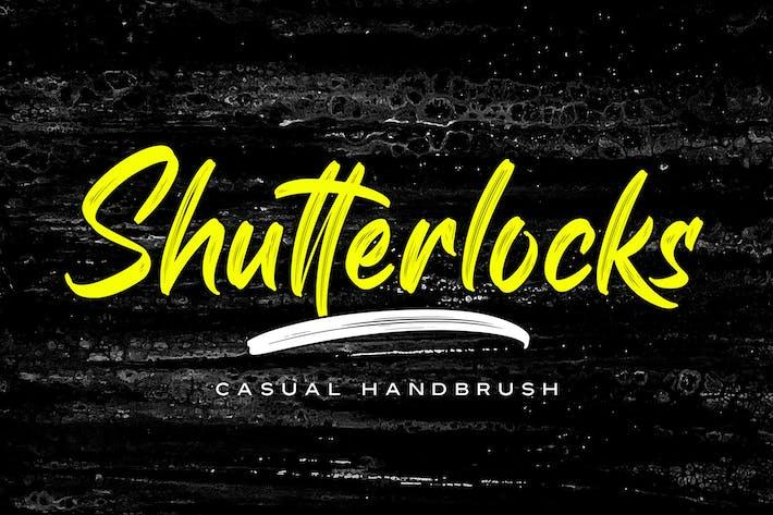 Shutterlocks - Brosse à main décontractée