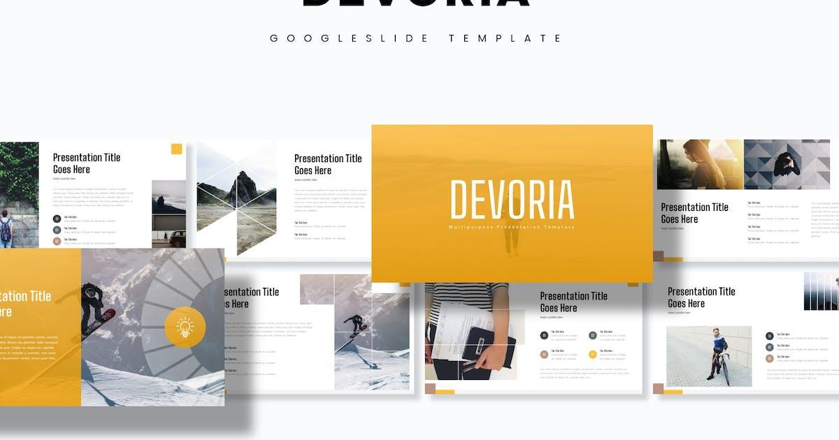 Download Devoria - Google Slide Template by aqrstudio