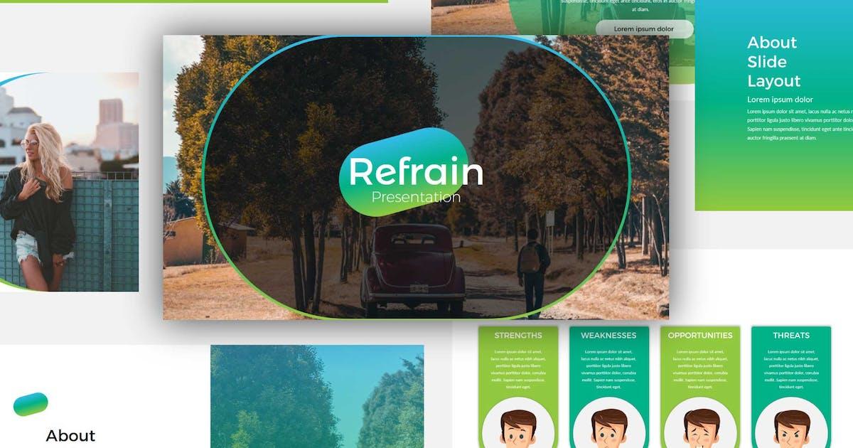 Download Refrain Keynote Templates by BringMeTheDesign