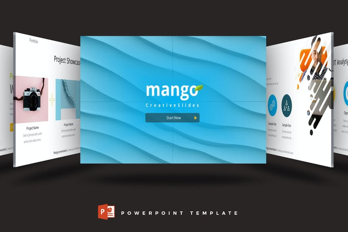 Thumbnail for Mango - Powerpoint Template