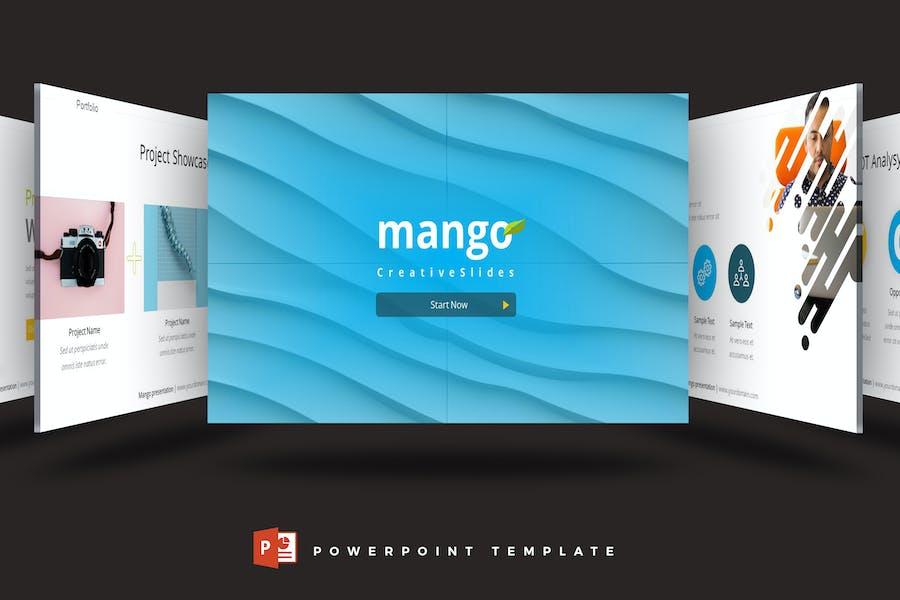 Mango - Powerpoint Template