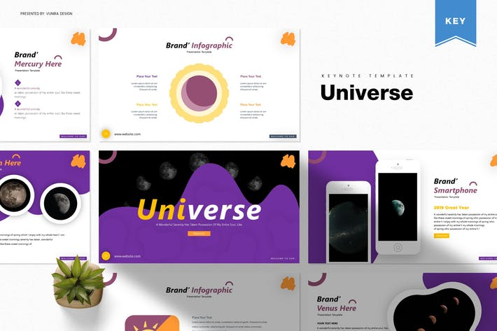 Thumbnail for Universe | Keynote Template