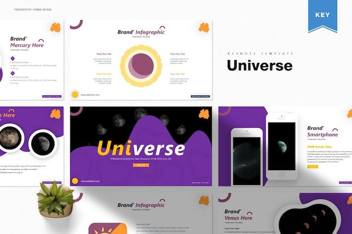 Вселенная | Шаблон Keynote