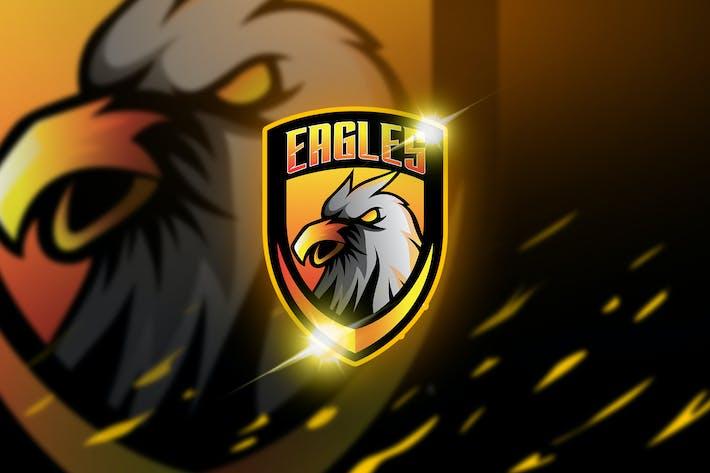 Thumbnail for Eagles - Mascot & Esport Logo