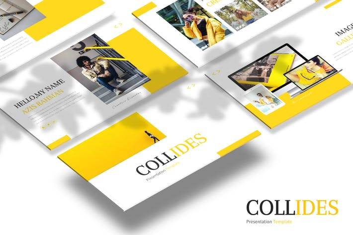 Thumbnail for Collides - Powerpoint Template