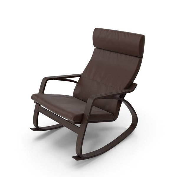 Thumbnail for Genuine Leather Rocking Chair