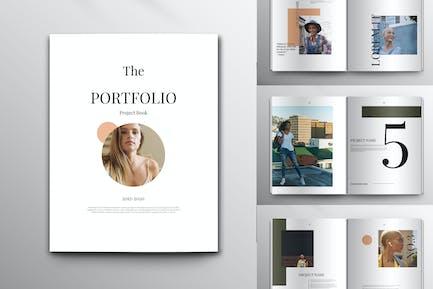 Portfolio Magazine Layout Set