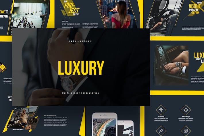 Thumbnail for LUXURY - Google Slide Business Modern Corporate