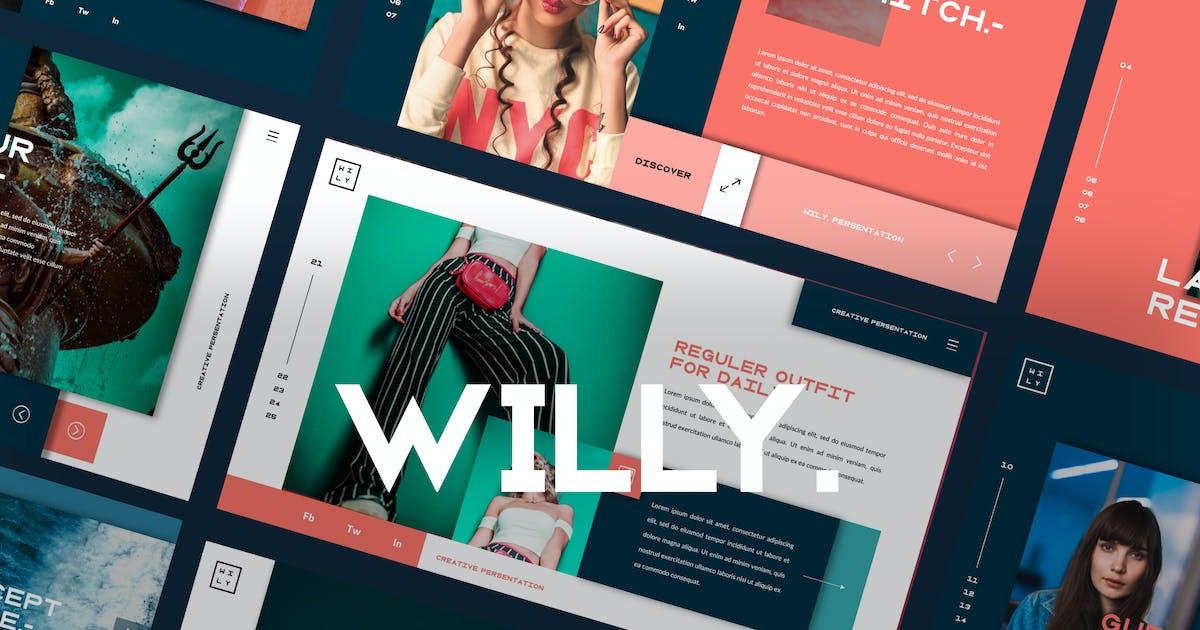 Download Willy Ui presentation Keynote by dirtylinestudio