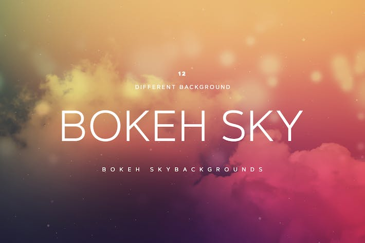 Cover Image For Bokeh SKY Background