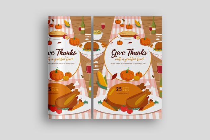 Thanks Giving Poster Promotion