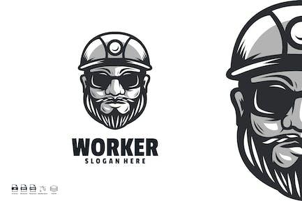 worker logo template