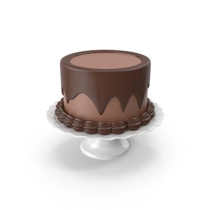 Pastel de Chocolate Completo