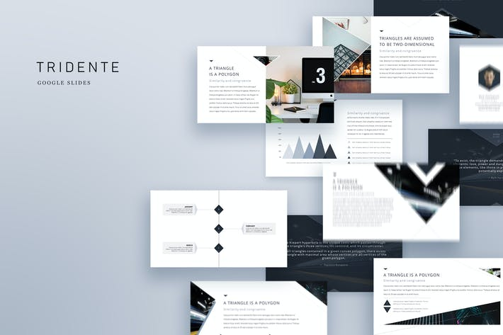 Thumbnail for TRIDENTE - Clean & Minimal Google Slides