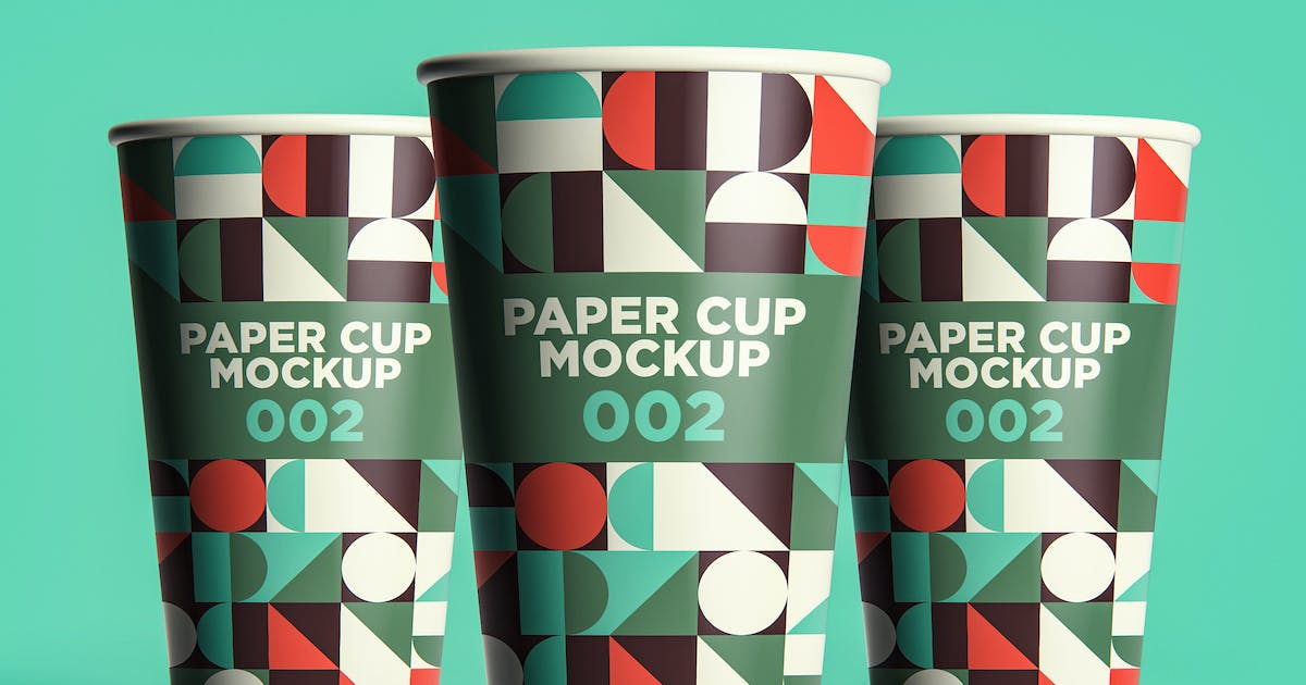 Download Paper Cup Mockup 002 by traint