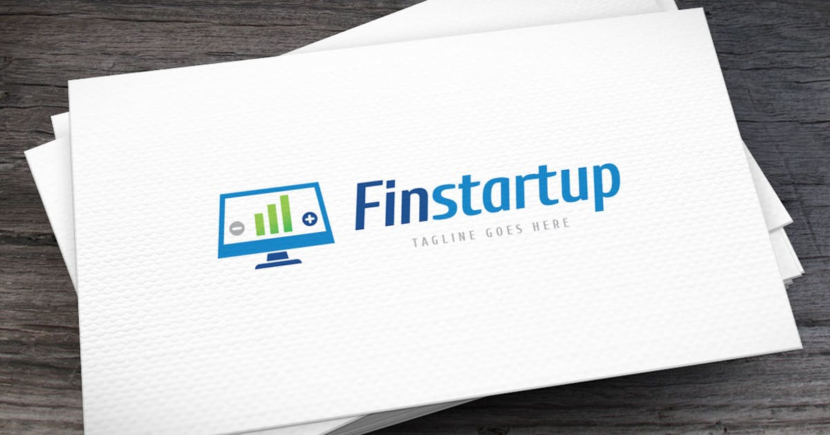 Download Financial Startup Logo Template by empativo
