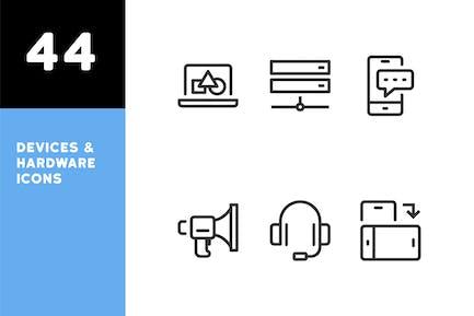 Geräte & Audio-Symbole