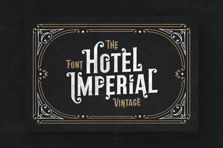 Thumbnail for Hotel Imperial Retro Font