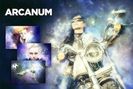 Arcanum Photoshop Action CS3+