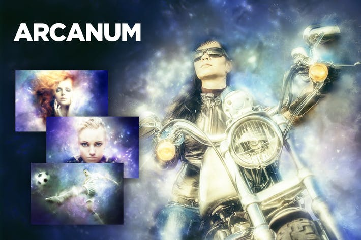 Thumbnail for Arcanum Photoshop Действие CS3+