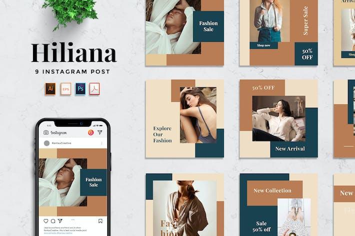 Thumbnail for RantauTemp - Hiliana Minimalist Social Media