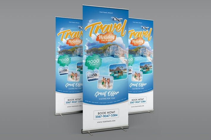 Thumbnail for Travel Roll Up Banner