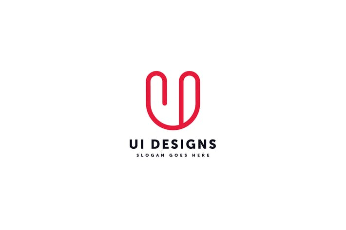 Thumbnail for Ui Design Logo U I Template