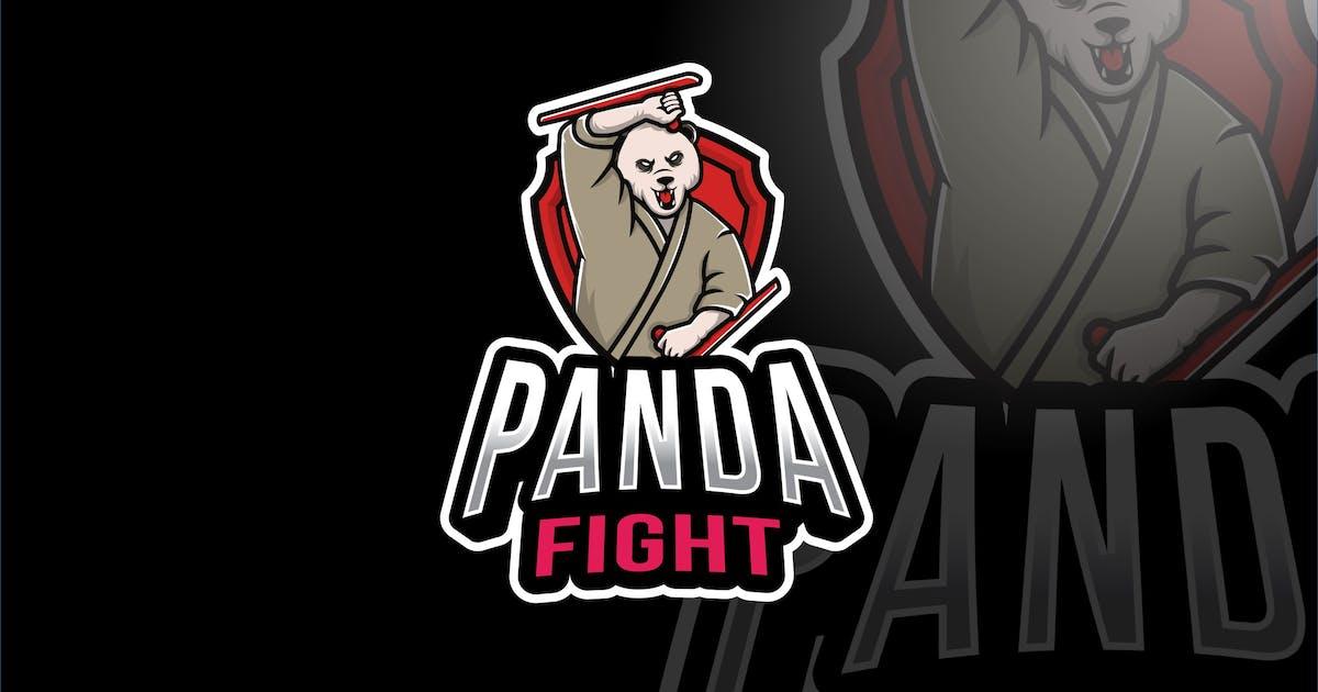 Download Panda Fight Esport Logo Template by IanMikraz