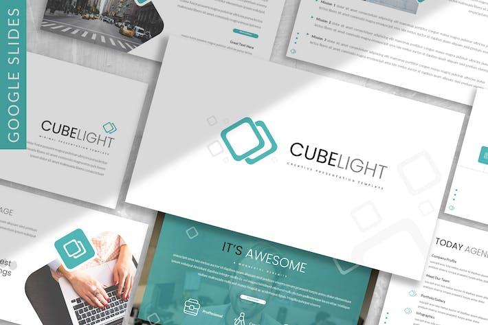 Thumbnail for Cubelight - Business Google Slide Template