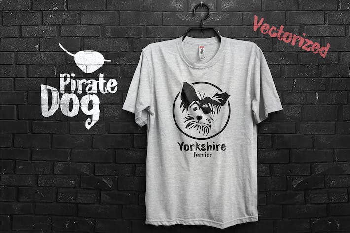 Thumbnail for Pirate Yorkshire Terrier