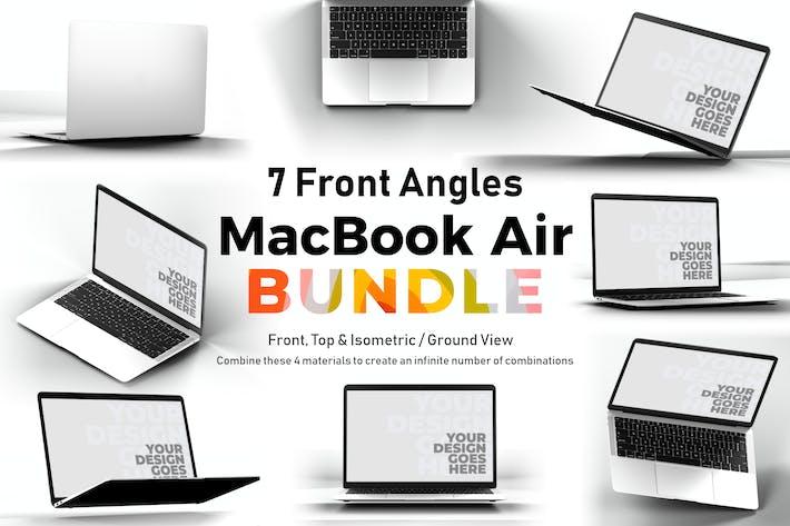 Thumbnail for Macbook Air Mockup Bundle