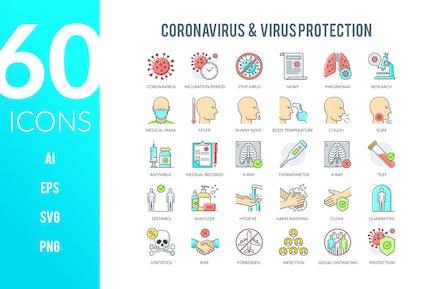 Coronavirus Icons