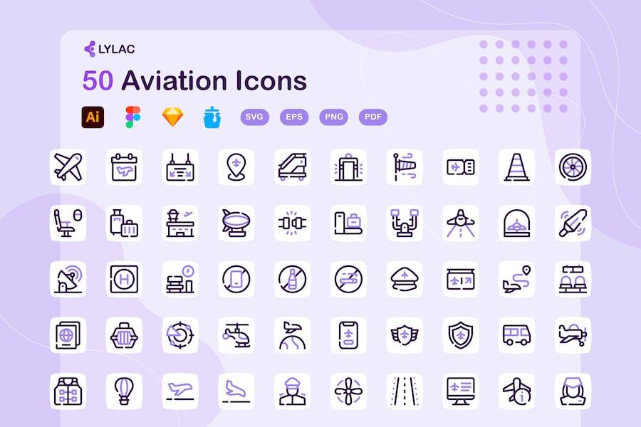 Lylac - Aviation Icons