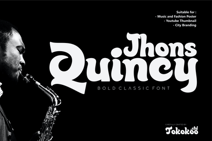 Quincy Jhons - Bold Classic font