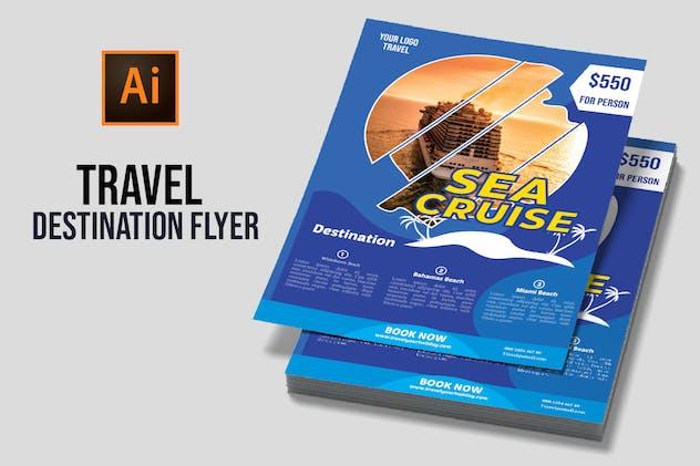 Travel Destination Flyer vol 2