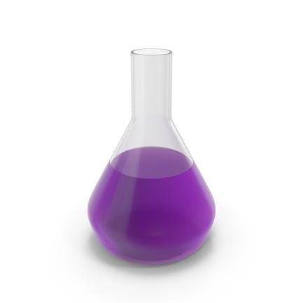 Alchemical Flask Medium Violet
