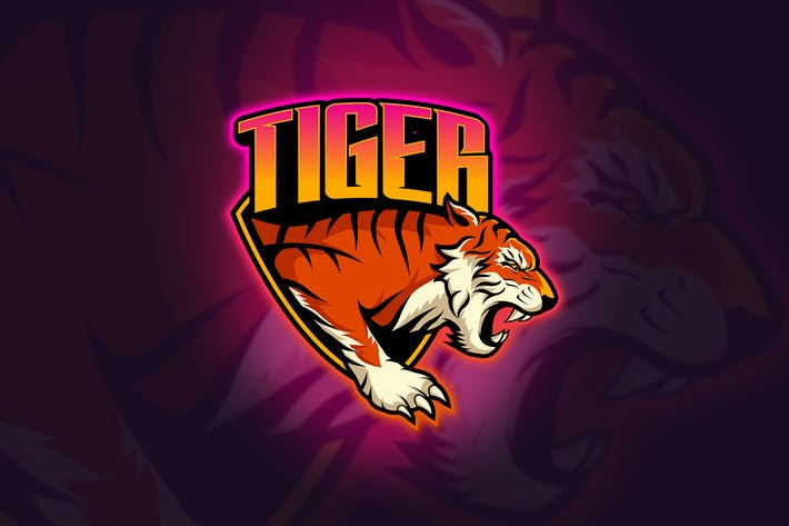 Thumbnail for Tiger - Mascot & Esport Logo