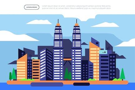 Petronas Twin Towers - Famous Landmark