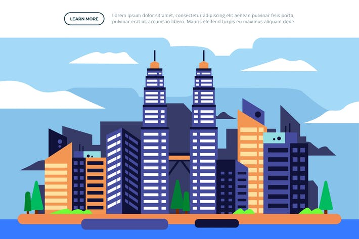 Thumbnail for Petronas Twin Towers - Famous Landmark